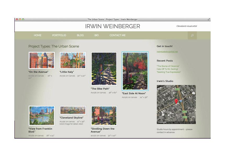 Irwin Weinberger, local Cleveland artist